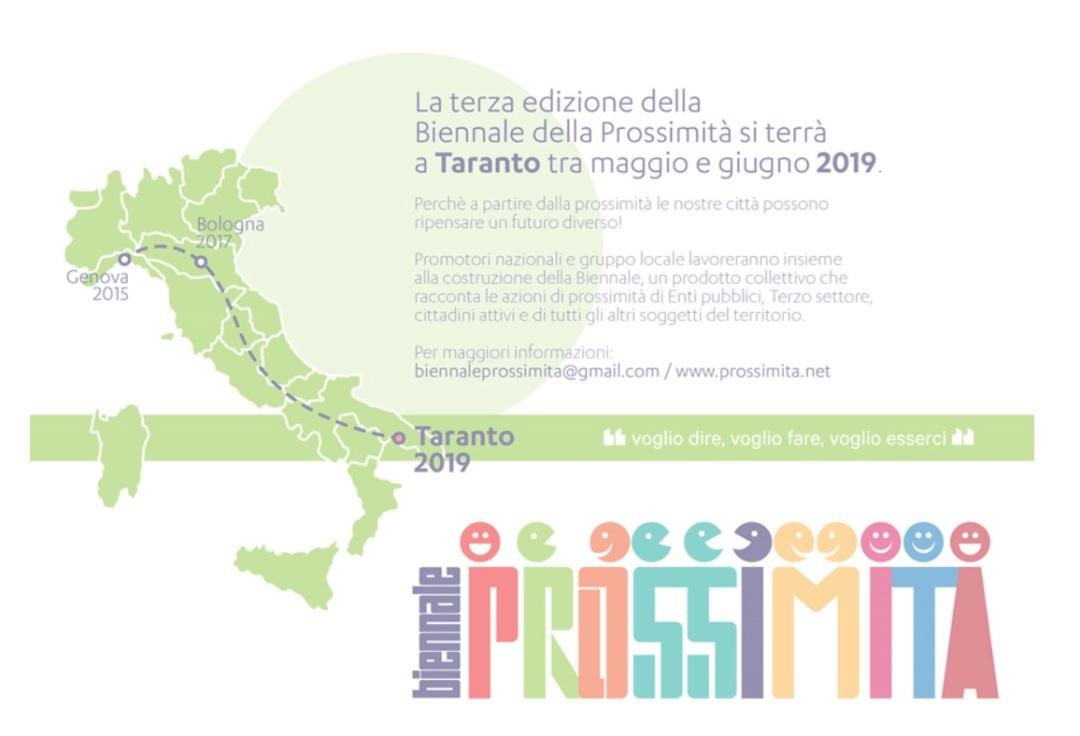 biennale prossimità 2019