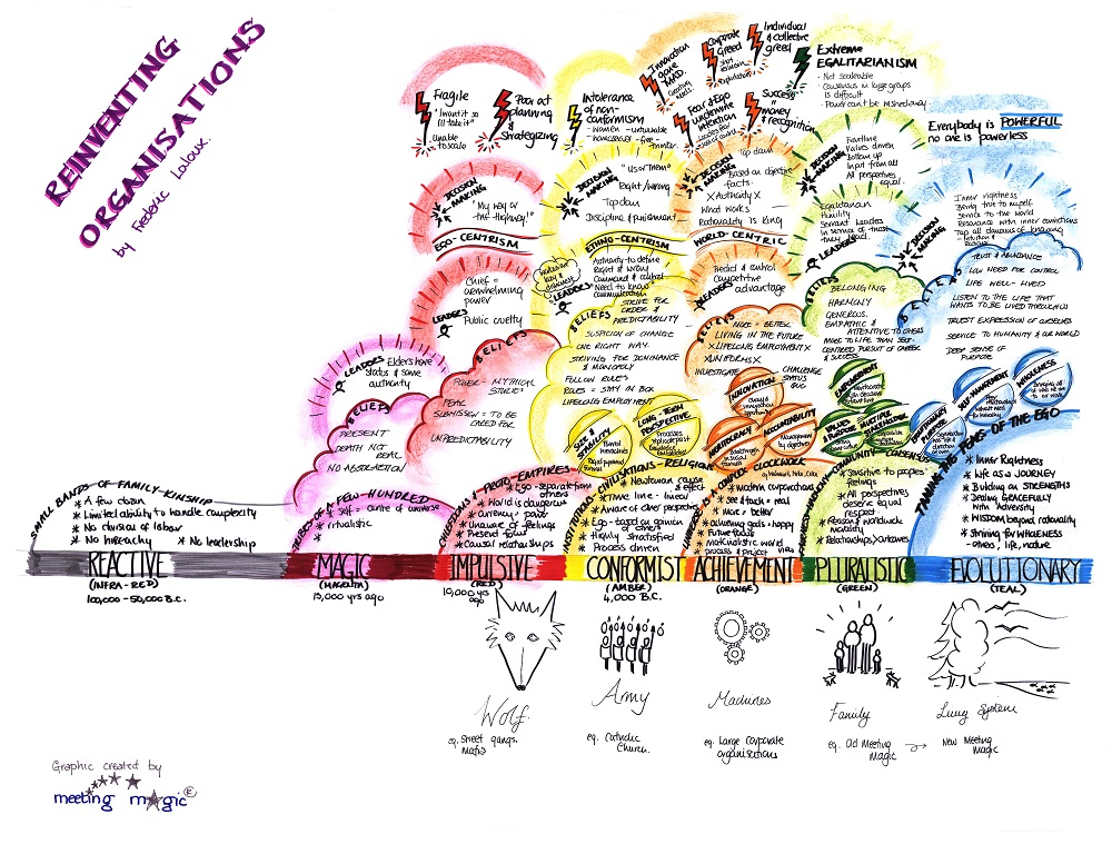 Reinventing Organisations Large