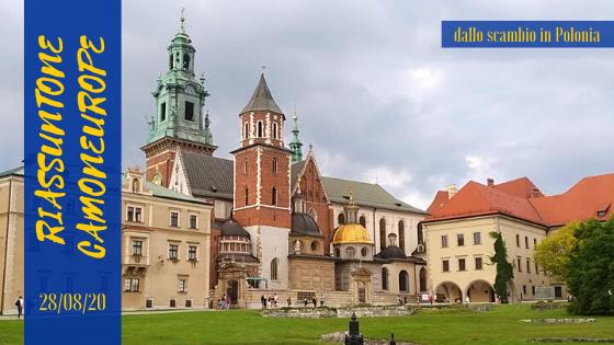 """Un'immagine della bella Cracovia, città della Polonia visitata dalle nostre Paola e Lucrezia durante lo scambio giovanile ErasmusPlus """"From Identity to Modernity""""."""