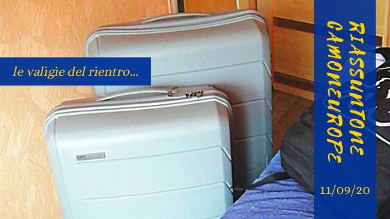 Le valigie del nostro volontario europeo, di ritorno dalla Lituania